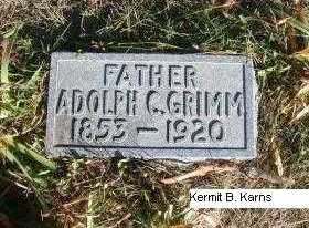 GRIMM, ADOLPH C. - Chase County, Nebraska | ADOLPH C. GRIMM - Nebraska Gravestone Photos