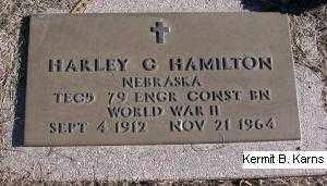 HAMILTON, HARLEY G. - Chase County, Nebraska | HARLEY G. HAMILTON - Nebraska Gravestone Photos