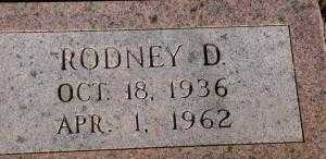 HAMILTON, RODNEY D. - Chase County, Nebraska | RODNEY D. HAMILTON - Nebraska Gravestone Photos