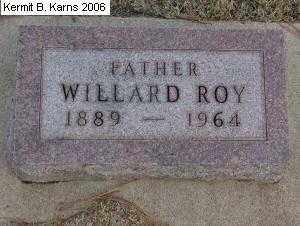 HAMILTON, WILLARD ROY 1889-1974 - Chase County, Nebraska | WILLARD ROY 1889-1974 HAMILTON - Nebraska Gravestone Photos