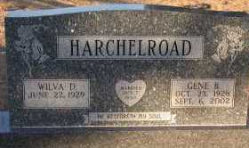 RICHARDS HARCHELROAD, WILVA DELORES - Chase County, Nebraska | WILVA DELORES RICHARDS HARCHELROAD - Nebraska Gravestone Photos