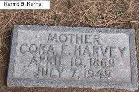 HARVEY, CORA E. - Chase County, Nebraska | CORA E. HARVEY - Nebraska Gravestone Photos