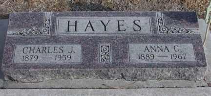 HAYES, CHARLES JACOB - Chase County, Nebraska | CHARLES JACOB HAYES - Nebraska Gravestone Photos