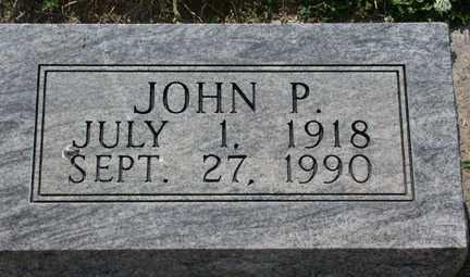 HAYES, JOHN PATRICK - Chase County, Nebraska | JOHN PATRICK HAYES - Nebraska Gravestone Photos
