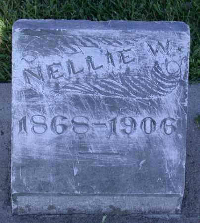 HAYES, NELLIE - Chase County, Nebraska   NELLIE HAYES - Nebraska Gravestone Photos