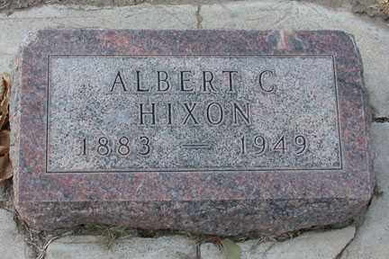 HIXON, ALBERT C. - Chase County, Nebraska | ALBERT C. HIXON - Nebraska Gravestone Photos