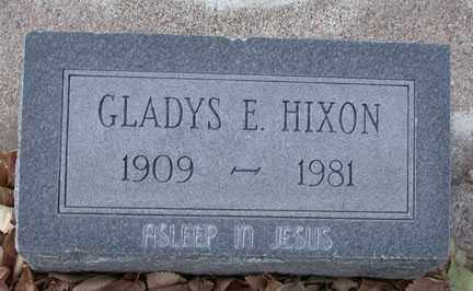 HIXON, GLADYS EMILY - Chase County, Nebraska | GLADYS EMILY HIXON - Nebraska Gravestone Photos