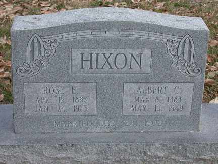 "FOSTER HIXON, ROSELLE ""ROSE ELLA"" - Chase County, Nebraska 