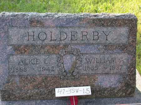 HOLDERBY, WILLIAM - Chase County, Nebraska   WILLIAM HOLDERBY - Nebraska Gravestone Photos