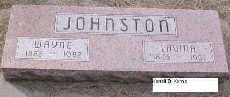 JOHNSTON, LAVINA K. - Chase County, Nebraska | LAVINA K. JOHNSTON - Nebraska Gravestone Photos