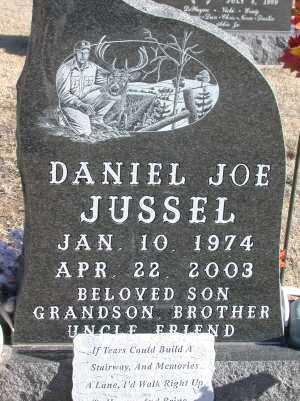 JUSSEL, DANIEL JOE - Chase County, Nebraska | DANIEL JOE JUSSEL - Nebraska Gravestone Photos
