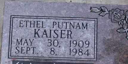 PUTNAM, CORA ETHEL - Chase County, Nebraska   CORA ETHEL PUTNAM - Nebraska Gravestone Photos