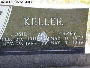 "TEPLEY KELLER, JOSEPHINE IRENE ""JOSIE"" 1911-1994 - Chase County, Nebraska | JOSEPHINE IRENE ""JOSIE"" 1911-1994 TEPLEY KELLER - Nebraska Gravestone Photos"