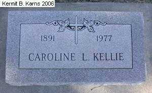 KELLIE, CAROLINE E. - Chase County, Nebraska | CAROLINE E. KELLIE - Nebraska Gravestone Photos