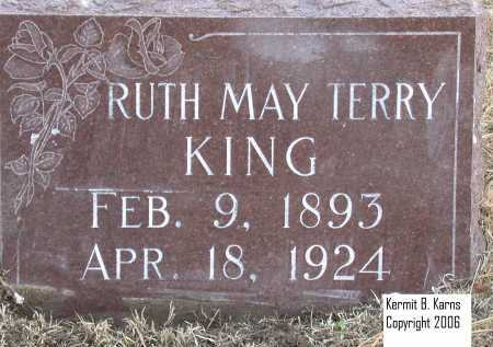 KING, RUTH MAY - Chase County, Nebraska | RUTH MAY KING - Nebraska Gravestone Photos