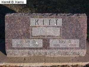 SEWARD KITT, HILDA MARIE - Chase County, Nebraska | HILDA MARIE SEWARD KITT - Nebraska Gravestone Photos