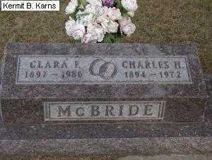MCBRIDE, CHARLES HUGH - Chase County, Nebraska | CHARLES HUGH MCBRIDE - Nebraska Gravestone Photos