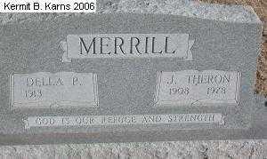 MERRILL, JOHN THERON - Chase County, Nebraska | JOHN THERON MERRILL - Nebraska Gravestone Photos