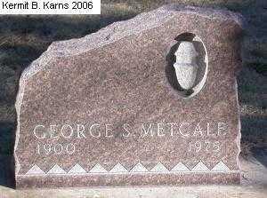 GRAY METCALF, MILDRED - Chase County, Nebraska | MILDRED GRAY METCALF - Nebraska Gravestone Photos
