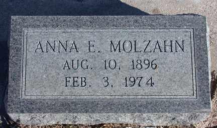 MOLZAHN, ANNA IRMAL - Chase County, Nebraska | ANNA IRMAL MOLZAHN - Nebraska Gravestone Photos