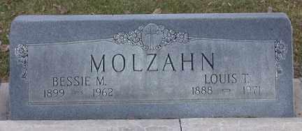 MOLZAHN, LOUIS THEODORE - Chase County, Nebraska | LOUIS THEODORE MOLZAHN - Nebraska Gravestone Photos