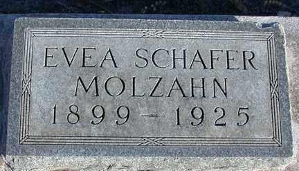 MOLZAHN, EVEA - Chase County, Nebraska   EVEA MOLZAHN - Nebraska Gravestone Photos