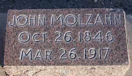 MOLZAHN, JOHN - Chase County, Nebraska | JOHN MOLZAHN - Nebraska Gravestone Photos