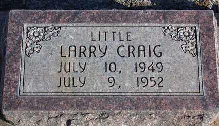 MOLZAHN, LARRY CRAIG - Chase County, Nebraska   LARRY CRAIG MOLZAHN - Nebraska Gravestone Photos