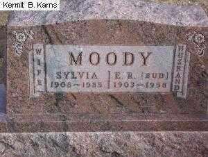 MOODY, SYLVIA JANE 1908-1985 - Chase County, Nebraska   SYLVIA JANE 1908-1985 MOODY - Nebraska Gravestone Photos