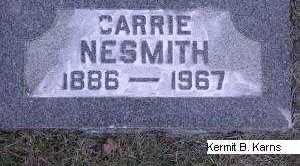 NESMITH, CARRIE - Chase County, Nebraska | CARRIE NESMITH - Nebraska Gravestone Photos