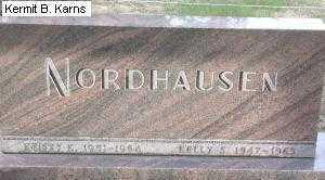 NORDHAUSEN, CHILDREN - Chase County, Nebraska | CHILDREN NORDHAUSEN - Nebraska Gravestone Photos