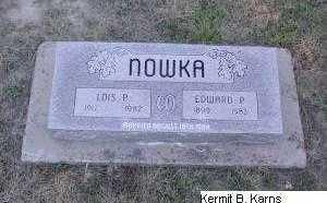 PORTER NOWKA, LOIS - Chase County, Nebraska | LOIS PORTER NOWKA - Nebraska Gravestone Photos