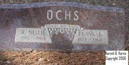 OCHS, FRANK L. - Chase County, Nebraska   FRANK L. OCHS - Nebraska Gravestone Photos