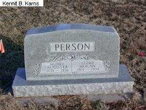 PERSON, HOGAN 1861-1904 - Chase County, Nebraska | HOGAN 1861-1904 PERSON - Nebraska Gravestone Photos
