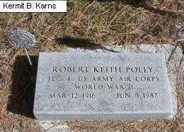 POLLY, ROBERT KEITH - Chase County, Nebraska   ROBERT KEITH POLLY - Nebraska Gravestone Photos