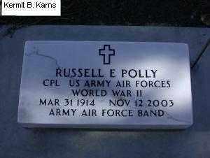 POLLY, RUSSELL E. - Chase County, Nebraska | RUSSELL E. POLLY - Nebraska Gravestone Photos