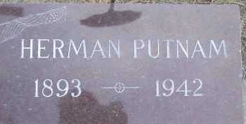 PUTNAM, GEORGE HERMAN - Chase County, Nebraska | GEORGE HERMAN PUTNAM - Nebraska Gravestone Photos