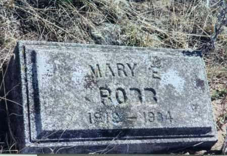 ROBB, MARY - Chase County, Nebraska   MARY ROBB - Nebraska Gravestone Photos