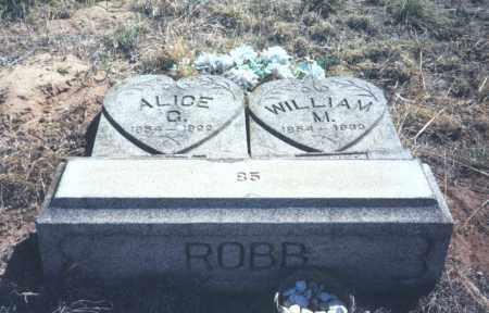 ROBB, ALICE - Chase County, Nebraska | ALICE ROBB - Nebraska Gravestone Photos
