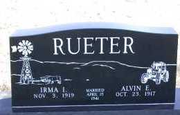 RUETER, ALVIN E. - Chase County, Nebraska | ALVIN E. RUETER - Nebraska Gravestone Photos
