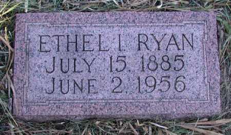 JOHNSTON RYAN, ETHEL INEZ - Chase County, Nebraska | ETHEL INEZ JOHNSTON RYAN - Nebraska Gravestone Photos
