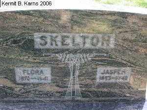 BROWN SKELTON, FLORA - Chase County, Nebraska   FLORA BROWN SKELTON - Nebraska Gravestone Photos
