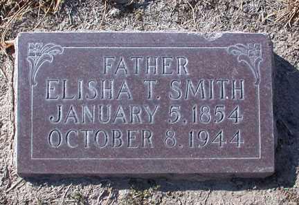 "SMITH, ELISHA TODD ""LASH"" - Chase County, Nebraska   ELISHA TODD ""LASH"" SMITH - Nebraska Gravestone Photos"