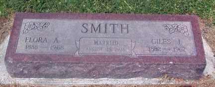 SMITH, FLORA AUGUSTA - Chase County, Nebraska | FLORA AUGUSTA SMITH - Nebraska Gravestone Photos