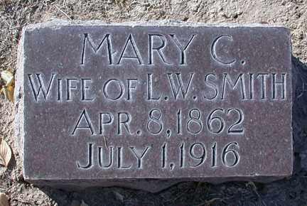SMITH, MARY C. - Chase County, Nebraska | MARY C. SMITH - Nebraska Gravestone Photos