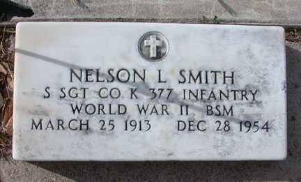 SMITH, NELSON L. - Chase County, Nebraska | NELSON L. SMITH - Nebraska Gravestone Photos