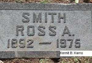 SMITH, ROSS ALBERT - Chase County, Nebraska | ROSS ALBERT SMITH - Nebraska Gravestone Photos