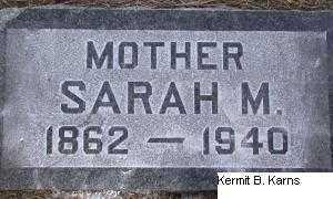 SMITH, SARAH MARIAHA - Chase County, Nebraska   SARAH MARIAHA SMITH - Nebraska Gravestone Photos