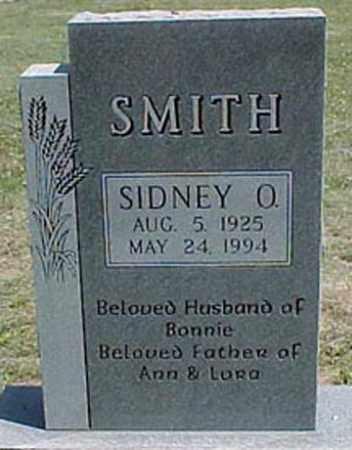 SMITH, SIDNEY O. - Chase County, Nebraska | SIDNEY O. SMITH - Nebraska Gravestone Photos