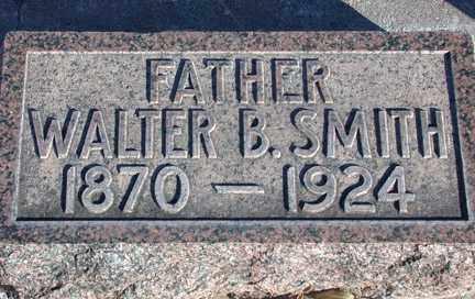 SMITH, WALTER BARTLETT - Chase County, Nebraska   WALTER BARTLETT SMITH - Nebraska Gravestone Photos